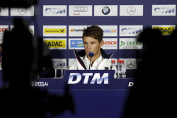 Press Conference, Marco Wittmann, BMW Team RMG BMW M4 DTM