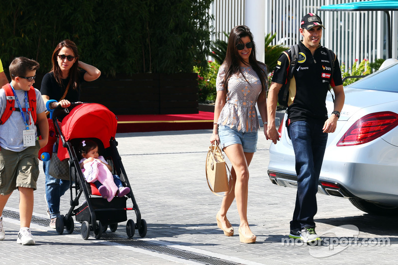 Photo of Pastor Maldonado & his  Daughter  Victoria