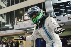 Felipe Massa, Williams celebrates his second position in parc ferme