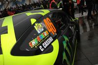 Valentino Rossi and Carlo Cassina, Ford Fiesta WRC