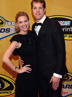 Brad Keselowski and his girlfriend Paige White
