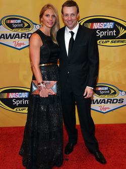 Matt Kenseth and his wife Katie