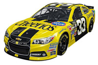 A 2015 paint scheme for Ty Dillon, Richard Childress Racing
