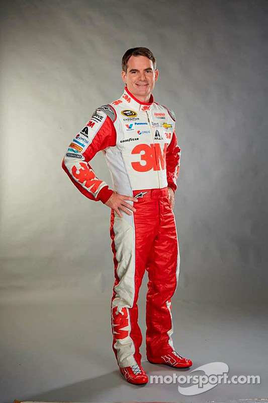 Jeff Gordon in his 2015 firesuit