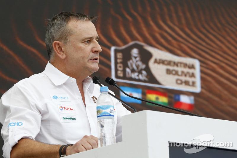 Etienne Lavigne, Dakar-Director