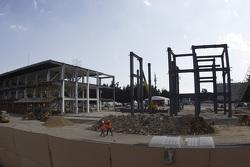 Autodromo Hermanos Rodriguez track renovation