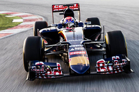 Max Verstappen drives the Toro Rosso STR10