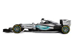 The new Mercedes AMG F1 W06
