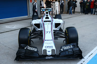 The Williams FW37 is unveiled