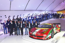 Ferrari GT awards ceremony