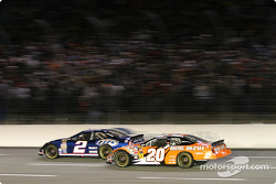 Rusty Wallace and Tony Stewart