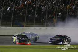 Jeff Gordon spins