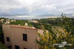 Beautiful Ajaccio, host city of the Tour de Corse