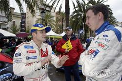 Sébastien Loeb and Markko Martin