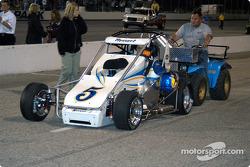 Tom Hessert's car to the grid