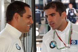 Juan Pablo Montoya and Marc Gene
