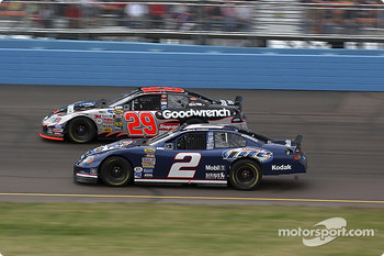 Kevin Harvick and Rusty Wallace