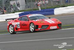 #97 Auto Palace Ferrari 360 Modena: Steeve Hiesse, Gian Paolo Ermolli, Giovanni Lavaggi
