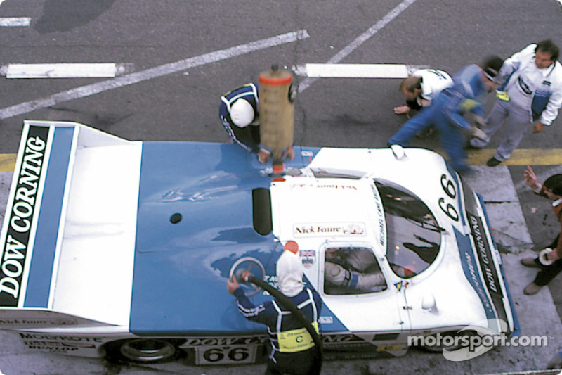 #66 EMKA Productions EMKA C84/1 Aston Martin: Tiff Needell, Nick Faure, Steve O'Rourke