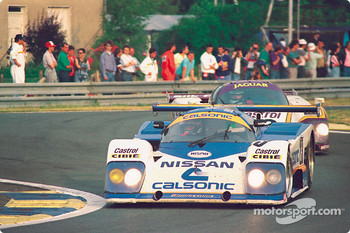 #23 Nissan Motorsport March 87G Nissan: Kazuyoshi Hoshino,Takao Wada, Aguri Suzuki