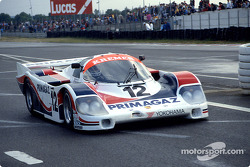 #12 Porsche Kremer Racing Porsche 956: Pierre Yver, Hubert Striebig, Max Cohen-Olivar