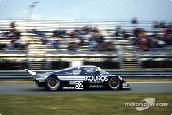 #62 Kouros Racing Team Sauber C8 Mercedes: Christian Danner, Henri Pescarolo, Dieter Quester