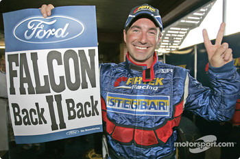 Back to back Australian V8 Supercar Series 2004 championships for Marcos Ambrose