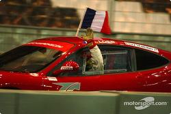 Final 2: winner Sébastien Loeb celebrates