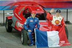 Team France Playstation: Stephane Sarrazin and Sébastien Bourdais