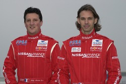 Nissan Dessoude team presentation: co-driver William Alcaraz and driver Paul Belmondo