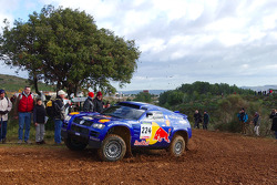 Volkswagen test in the south of France: Bruno Saby and Michel Périn
