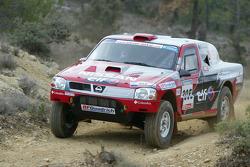 Nissan Rally Raid Team shakedown: Colin McRae and Tina Thorner
