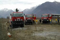 Motorsport Italia team presentation: the Iveco trucks
