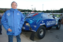 Jean-Louis Schlesser with his Schlesser-Ford Raid