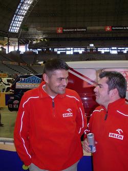 Krzysztof Holowczyc and Jean-Marc Fortin