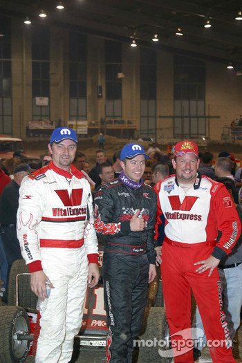 Tracy Hines, Cory Kruseman and Dave Darland