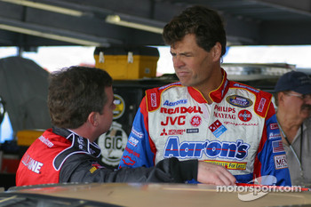 Joe Nemechek and Michael Waltrip