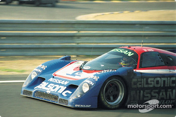 #23 Nissan R90CP:  Masahiro Hasemi, Kazuyoshi Hoshino, Toshio Suzuk