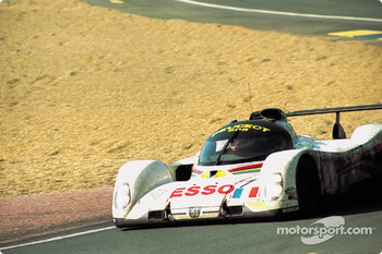 #1 Peugeot Talbot Sport Peugeot 905C: Thierry Boutsen, Yannick Dalmas, Teo Fabi