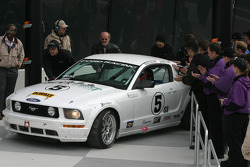 Race winner #5 Blackforest Motorsports Mustang GT: Ian James, Tom Nastasi arrive in victory lane