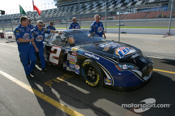 Miller Lite Dodge back from technical inspection