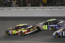 Second segment start: Greg Biffle fight with Jimmie Johnson