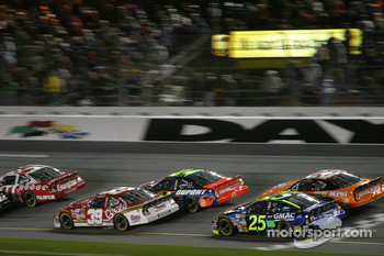 Bill Elliott, Jeff Gordon, Brian Vickers and Tony Stewart