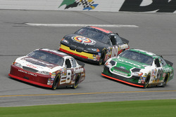 Dale Earnhardt Jr., Carl Edwards and Johnny Sauter
