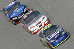 Jimmie Johnson, Kevin Harvick and Mark Martin