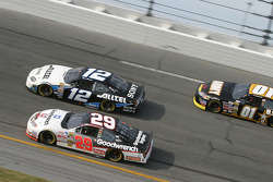 Ryan Newman, Kevin Harvick and Joe Nemechek