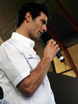 Williams-BMW HP event at the Opera House in Sydney: Mark Webber