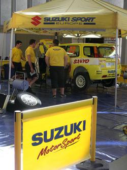 Suzuki Sport Europe service area