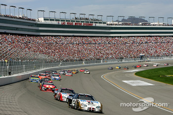 Ryan Newman leads the field
