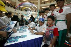 Visit of KLCC: Felipe Massa